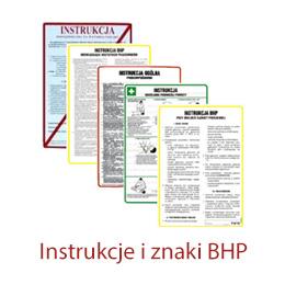 instrukcje i znaki BHP