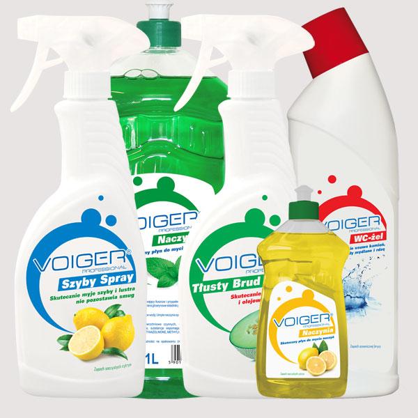 Voiger Professional – domowe środki czystości