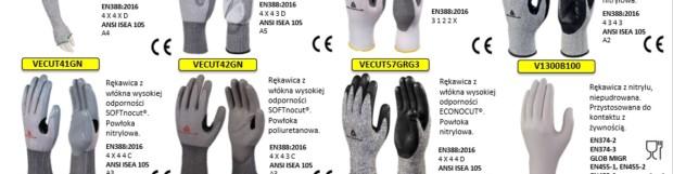 Nowe rękawice DELTA PLUS