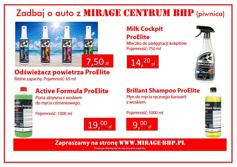 Zadbaj o auto z MIRAGE Centrum BHP