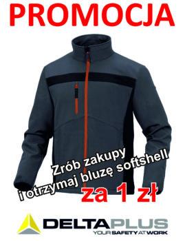 Promocja! Bluza softshell za 1 zł
